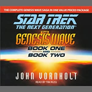 Star Trek, The Next Generation: The Genesis Wave, Book 2 (Adapted) | [John Vornholt]