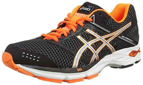 asics-gel-phoenix-7-mens-running-shoes-black-black-silver-hot-orange-9093-8-uk
