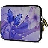 Amzer 7.75 Inch Neoprene Sleeve Butterfly Swish For Samsung GALAXY Tab 2 7.0, Google Nexus 7, Amazon Kindle Fire...