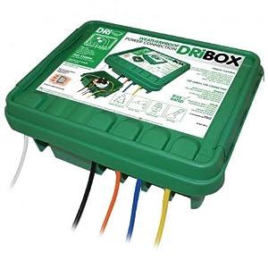 Dri-box 330 Outdoor Waterproof/Weatherproof Box- Green