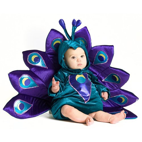 Baby & Toddler Peacock Halloween Costume