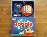 BOGGLE - THE 3 MINUTE WORD GAME. 1996 EDITION BY PARKER