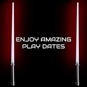 Lumistick LED Light Saber Sword   Lightsaber Glowing Swords Realistic Star Wars Toy Expandable Spinning Ball (Red, 60 Swords) (Color: Red, Tamaño: 60 Swords)