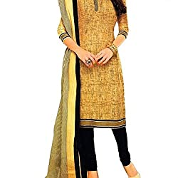 Shree Hari Creation Women's Poly Cotton Unstitched Dress Material (3611_Multi-Coloured_Free Size)