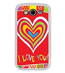 Bright Red Love Wallpaper 2D Hard Polycarbonate Designer Back Case Cover for Samsung Galaxy Grand 2 :: Samsung Galaxy Grand 2 G7105 :: Samsung Galaxy Grand 2 G7102