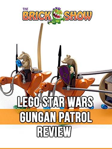 LEGO Star Wars Gungan Patrol Review (7115)