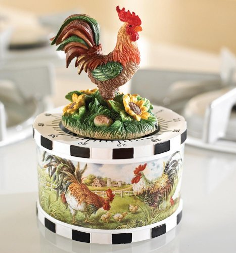 Rooster Themed Kitchen
