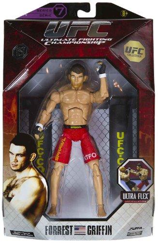 Buy Low Price Jakks Pacific Forrest Griffin 7.25″ Figure: UFC Ultra-Flex Figure Collection Series #7 [UFC 53] (B004W0NNY4)