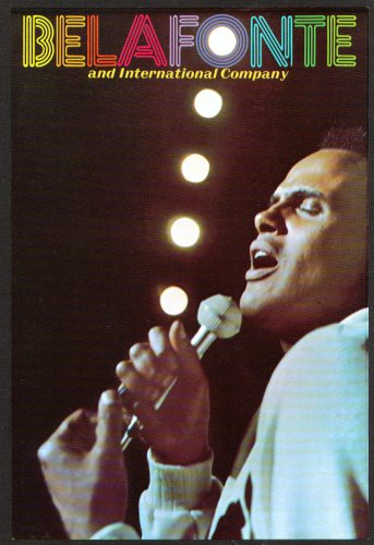 Harry Belafonte & Company Flyer Bushnell Hartford 70S