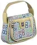 echange, troc A4T Licensed DS Lite/DSi Girls Fashion Bag (Cream with Multi Colour) (Nintendo DS) [import anglais]
