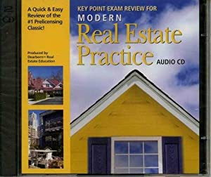 Audio CDs for Modern Real Estate Practice Dearborn Real Estate Education