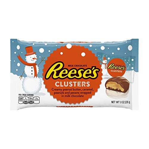 reeses-holiday-peanut-butter-clusters-8-ounce-pack-of-12