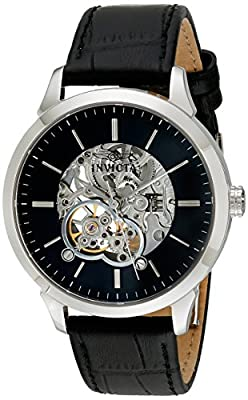 Invicta Men's 18136 Specialty Analog Display Mechanical Hand Wind Black Watch