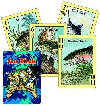 Go Fish! Card Game and Fish Identification Cards - 1
