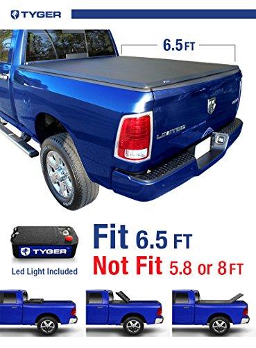 Tyger Auto TG-BC3D1011 Tri-Fold Pickup Tonneau Cover (Fits 2002-2016 Dodge Ram 1500; 2003-2016 Dodge Ram 2500/3500; 06-11 Ram Mega Cab 6.5 feet (78 inch)) (Truck Parts Dodge Ram 2500 compare prices)