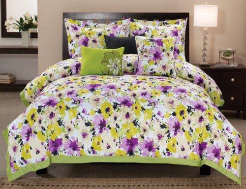 Luxury Home 6-Piece La Petit Cotton Comforter Set, King front-1026748