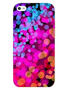 iPhone 5 5S Cover - Bubble Splash - Colorful -Abstract - Designer Printed Hard Shell Case