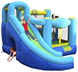Inflatable drinking water Slides:Ultimate Combo blow up Bounce House