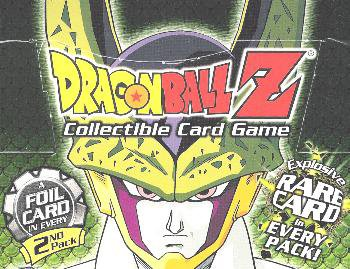 Dragonball Z Score Trading Card Game Cell GAMES Saga Booster Pack 10 Cards