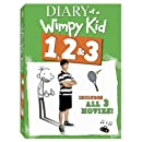 Diary of a Wimpy Kid 3 Pack (Diary of a Wimpy Kid, Rodrick Rules, Dog Days)