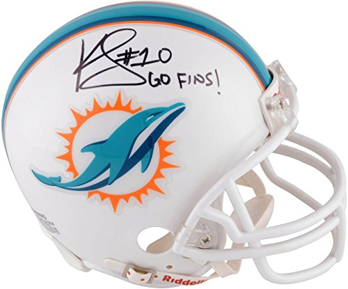 371d6028ff6 Kenny Stills Miami Dolphins Autographed Riddell Mini Helmet with Go Fins  Inscription - Fanatics Authentic Certified