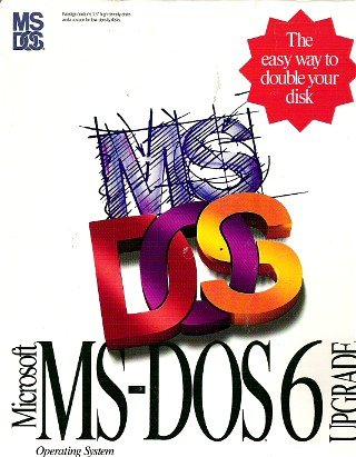 Microsoft MS-DOS 6 Upgrade Operating System