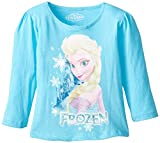 Extreme Concepts Little Girls' Disney Frozen Elsa Puff Long Sleeve Top