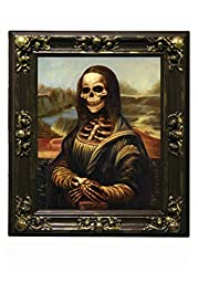 Forum Novelties Haunted Lenticular Mona Lisa Moving Picture Frame, 18 x 22\