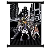 The World Ends With You Game Fabric Wall Scroll Poster (16