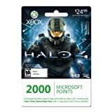 Xbox LIVE 2000 Microsoft Points for Halo 4 War Games Map Pass [Online Game Code]