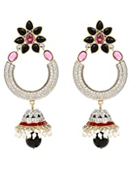 Akshim Multicolour Alloy Earrings For Women - B00NPYBBF6