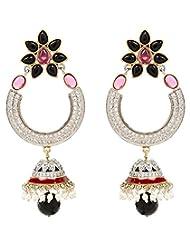 Akshim Multicolour Alloy Earrings For Women - B00NPYBBF6