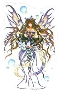 Amazon.com: Nene Thomas - Burgundy Wine Fairy - Sticker / Decal
