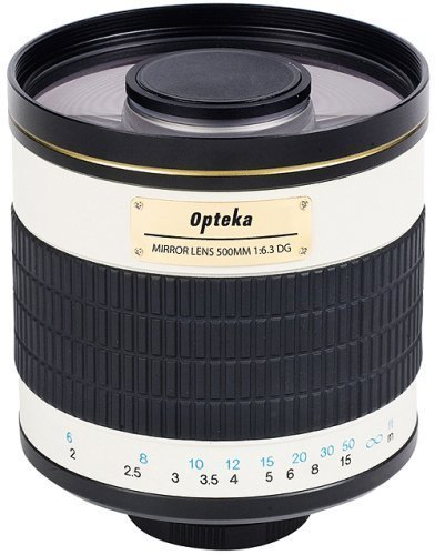 Opteka 500Mm F/6.3 Telephoto Mirror Lens For Sony Alpha A99, A77, A65, A58, A57, A37 And A35 Digital Slr Cameras