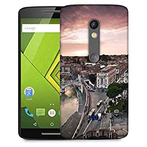 Snoogg City Roads Designer Protective Phone Back Case Cover For Moto G 3rd Generation