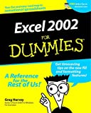 Excel 2002 For Dummies (0764508229) by Harvey, Greg