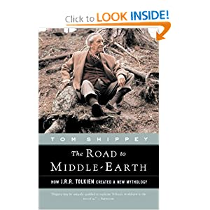 The Road to Middle-Earth: How J.R.R. Tolkien Created a New Mythology by Tom Shippey