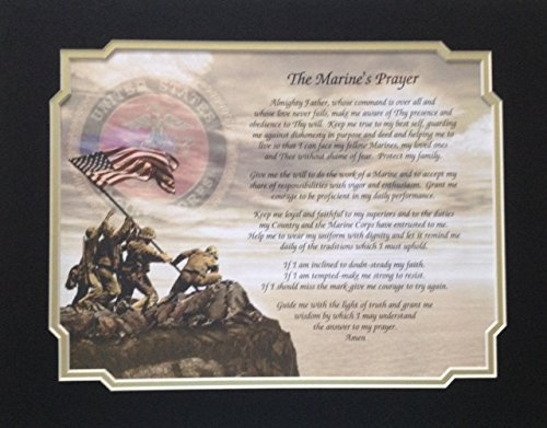 Marine Gift Prayer Veterans Day Christmas Birthday Husband Brother Son