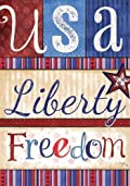 USA Liberty Freedom Patriotic Garden Flag