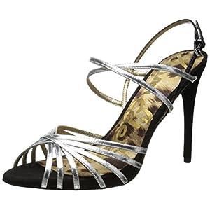Sam Edelman Women's Harlette Sandal,Silver,9 M US