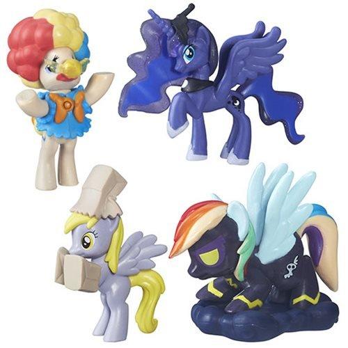 My Little Pony Nightmare Night Bundle Princess Luna, Mayor Mare, Muffin & Rainbow Dash by MLP