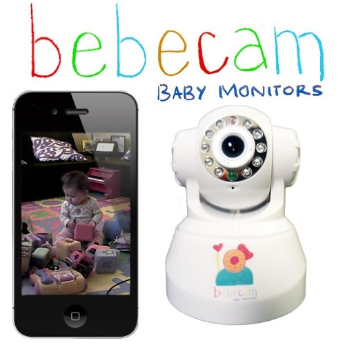 bebecam anywhere baby monitor for iphone android and internet browsers whi. Black Bedroom Furniture Sets. Home Design Ideas