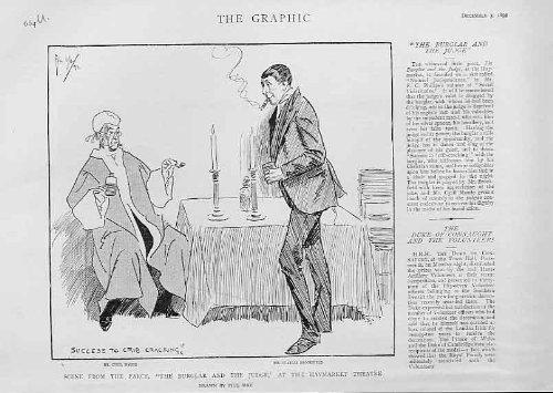 茶番劇 Haymerket の劇場 1892 の強盗及び裁判官