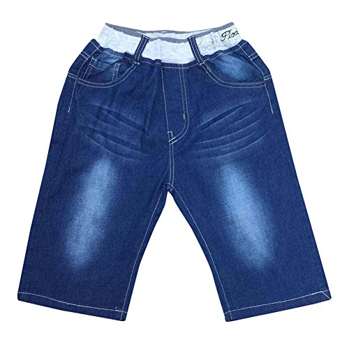 Zier bambini ragazzi dei jeans denim mutanda casuale Pull Up elastico regolabile nuovo design per ginocchia