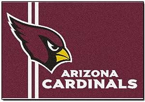 NFL Novelty Starter Mat NFL Team: Arizona Cardinals - Uniform Inspired, Size: 1