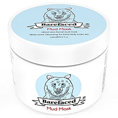 Dead Sea Facial Mud Mask - Anti Ageing Blackhead Treatment For All Skin Types - Naturally Experience The Best Skin Possible - 6oz