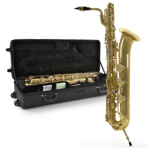 Baritone Saxophone by Gear4music Gold