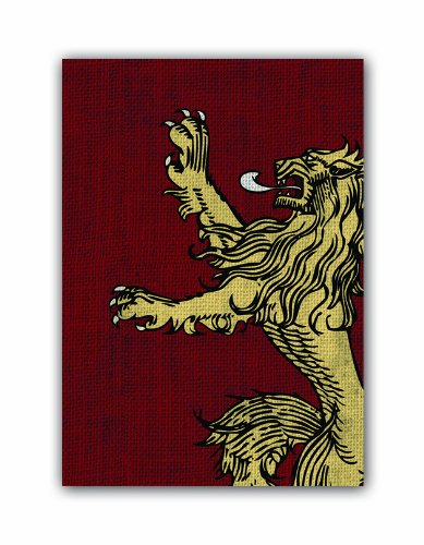 Game of Thrones HBO Art Sleeves: House Lannister (Pack of 50 Sleeves)