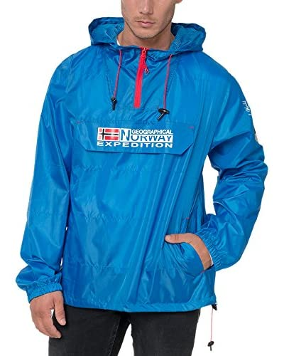 Geographical Norway Chaqueta Impermeable Boogee Azul Royal