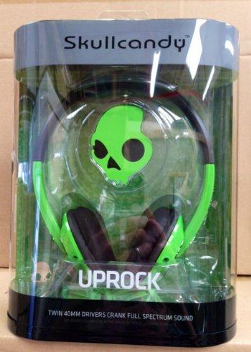 Skullcandy Uprock Headphones Green Black Brand New Genuine Boxed S5Urdz-037